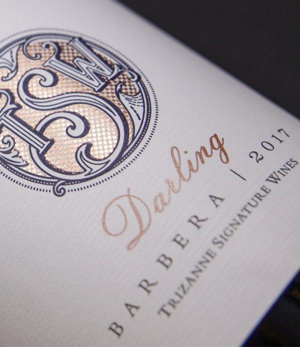 Trizanne Signature Wines - TSW Darling Barbera 2017