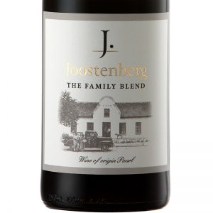Joostenberg Family Red Wine Blend, Tyrrel Myburgh, Good Wine Shop