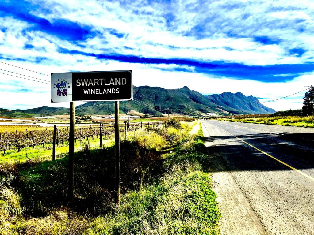 Swartland winelands, Western Cape
