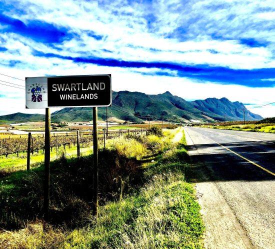 Swartland winelands, Western Cape