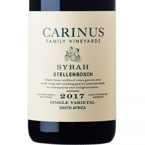 Carinus Syrah 2017 Good Wine Shop