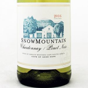 Snow Mountain Chardonnay Pinot Noir 2017 Good Wine Shop