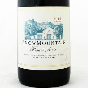 Snow Mountain Pinot Noir 2017
