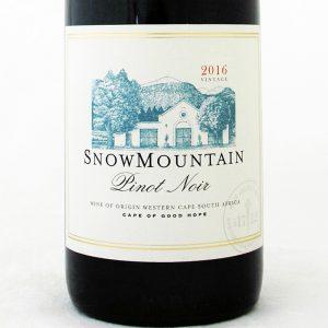 Snow Mountain Pinot Noir 2017