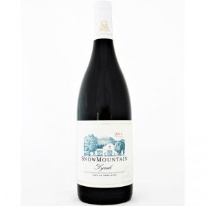 Snow Mountain Syrah 2014 Good Wine Shop