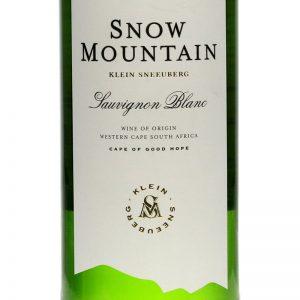Snow Mountain Klein Sneeuberg Sauvignon Blanc Good Wine Shop