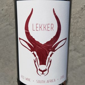 Good Wine Shop Lekker Red 2016
