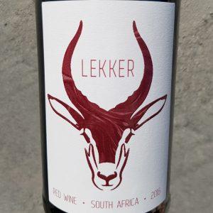 Good Wine Shop Lekker Red 2016