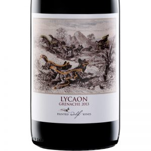 Good Wine Shop Painted Wolf Lycaon Grenache Label