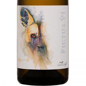 Good Wine Shop Painted Wolf Pictus VI Label