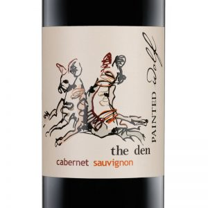 Good Wine Shop Painted Wolf The Den Cabernet Sauvignon Label