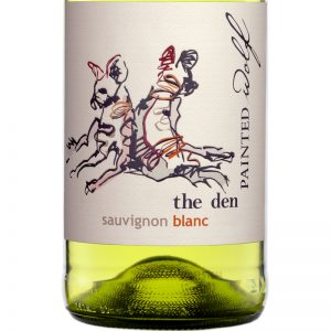 Good Wine Shop Painted Wolf The Den Sauvignon Blanc Label