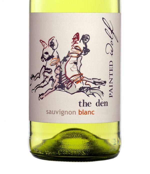 Good Wine Shop Painted Wolf The Den Sauvignon Blanc Label