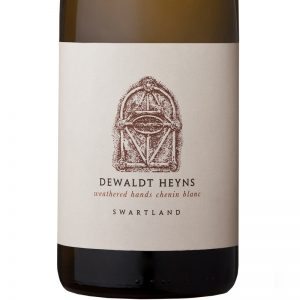 GWS Dewaldt Heyns Weathered Hands Chenin Blanc Label