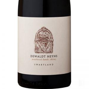 GWS Dewaldt Heyns Weathered Hands Shiraz Label