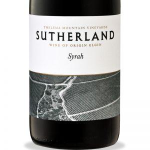 GWS Sutherland Syrah Label