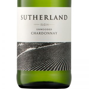 GWS Sutherland Unwooded Chardonnay Label