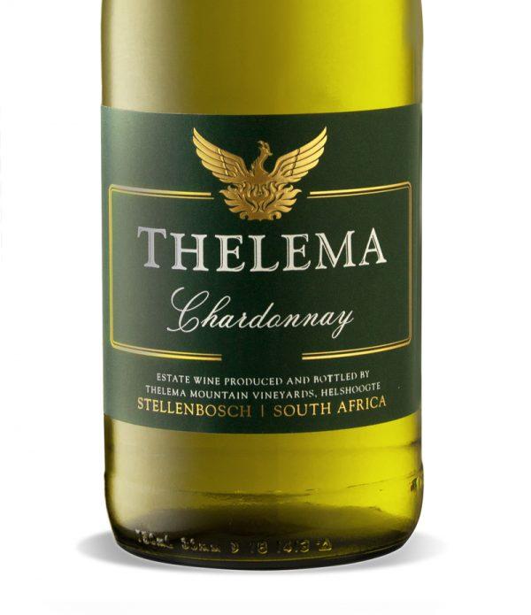 GWS Thelema Chardonnay Label
