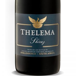 GWS Thelema Shiraz Label